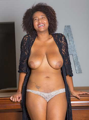Naked black women Naked Black Women Whitney Williams Flaunting Her Big Natural Tits In Jeans