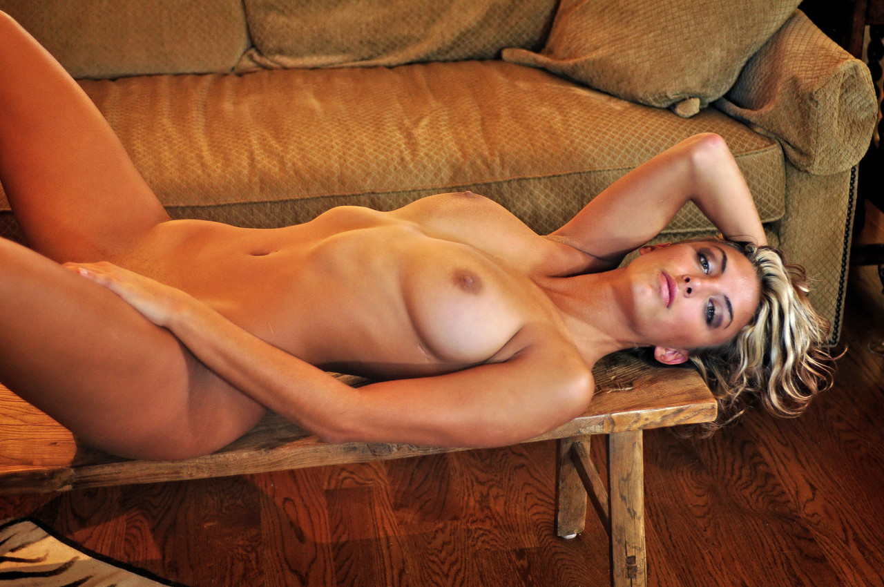 Marilyn winters nude Blonde Milf Marilyn Winters Plays With Her Hair Lies Naked On The Table
